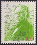 ФРГ 1994 год. 175 лет со дня рождения писателя Теодора Фонтейна. 1 марка