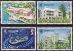 Бермуды 1980 год. Форум экономического развития на Бермудах. 4 марки