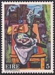 Ирландия 1974 год. Живопись Ивона Макиннеса. 1 марка