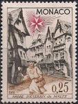 Монако 1961 год. Мальтийский орден. 1 марка