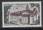 Франция 1972 год. Стандарт. Туризм. Замок Базош, 1 марка