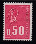 Франция 1971 год. Стандарт. Марианна, 1 марка