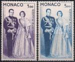 Монако 1960 год. Княжеская пара. 2 марки