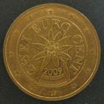2 евро цента 2009 год. Австрия