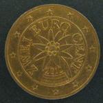 2 евро цента 2012 год. Австрия