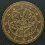 2 евро цента 2010 год. Германия