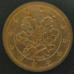 2 евро цента 2012 год. Германия