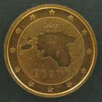 2 евро цента 2011 год. Эстония