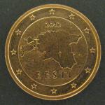 2 евро цента 2012 год. Эстония