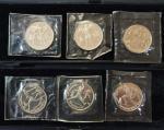 Набор Юбилейных монет. Олимпиада в Барселоне. 1991 год