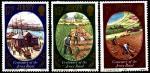 """Гернси (Великобритания) 1980 год. 100 лет сорту картофеля """"Джерси королевский"""". 3 марки"""
