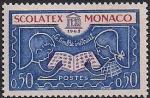 "Монако 1963 год. Международная филвыставка ""SCOLATEX"" в Монте Карло. 1 марка"