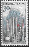 ЧССР 1979 год. Годовщина Словацкого народного восстания. Нефтехимический завод. 1 марка