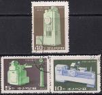КНДР 1972 год. Машиностроение. 3 гашёные марки