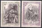 Польша 1986 год. История правления польских королей в живописи. 2 гашеные марки