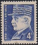 Франция 1941 год. Маршал Франции Филипп Петен. 1 марка из серии (н-л 4)