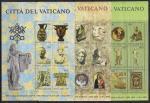 Ватикан 1983 год. Выставка предметов искусства Ватикана в США. 3 блока