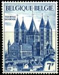 Бельгия 1971 год. 800 лет собору Нотр-Дам де Турне. 1 марка
