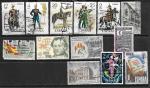 Набор марок Испании, 13 гашеных марок