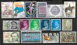 Набор марок Испании, 16 гашеных марок