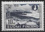 Финляндия 1947 год. Туристическая ассоциация. Пейзаж, 1 марка