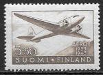 Финляндия 1944 год. Самолет DC2, 1 марка
