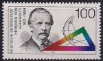 ФРГ 1994 год. 100 лет со дня смерти физика Германа Гельмгольца. 1 марка