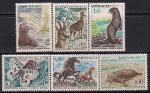 Монако 1970 год. 20 лет Всемирной Ассоциации защиты животных. 6 марок