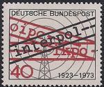 ФРГ 1973 год. 50 лет организации Интерпол. 1 марка