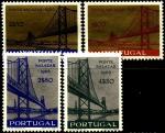 Португалия 1966 год. Мост Салазара в Лиссабоне. 4 марки