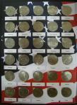 Набор монет. Памятные монеты США, Штаты и территории. по 25 центов