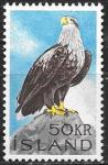 Исландия 1966 год. Стандарт, орлан, 1 марка