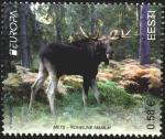 Эстония 2011 год. Европа. Лось. 1 марка