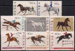 Польша 1967 год. 150 лет конному спорту. 8 марок