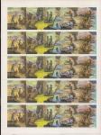 СССР 1989 год. Иллюстрации к произведениям Джеймса Купера. 1 лист