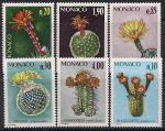 Монако 1974 год. Цветущие кактусы. 6 марок