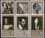 Албания 1974 год. 150 лет со дня рождения художника Теодора Жерара. 6 марок