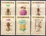 Польша 1987 год. Всемирный конгресс по пчеловодству в Варшаве (281.3106). 6 марок