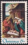 США 1970 год. Рождество. 1 марка