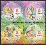 Индонезия 2008 год. Летние Олимпийские игры в Пекине (138.2597). 4 марки