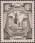 Польша 1955 год. Город Ополе (ном. 95). 1 марка из серии