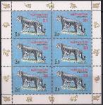 Киргизия 2010 год. Год Тигра. 1 малый лист (166.259)