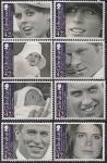 Гибралтар 2009 год. Внуки королевы Елизаветы. 8 марок