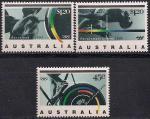 Австралия 1992 год. Летние Олимпийские игры и Олимпийские игры инвалидов в Барселоне. 3 марки