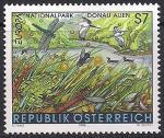Австрия 1999 год. Национальный природный парк Донау-Ауэн. 1 марка