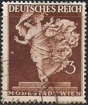 """Германия. Рейх 1941 год. Статуя """"Танец"""" (ном.3 пф). 1 гашеная марка из серии"""