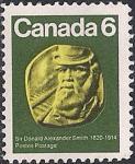Канада 1970 год. 150 лет со дня рождения Дональда Смита - канадского Верховного Комиссара. 1 марка