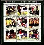 Гвинея-Бисау 2001 год. Летние олимпийские игры в Сиднее. Футбол. Малый лист