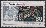 ФРГ 1986 год. Охрана памятников. 1 марка