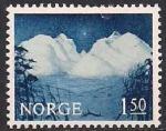 Норвегия 1965 год. Местные виды. 1 марка